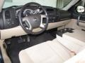 2008 Chevrolet Silverado 1500 Light Cashmere/Ebony Accents Interior Prime Interior Photo