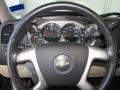 Light Cashmere/Ebony Accents Steering Wheel Photo for 2008 Chevrolet Silverado 1500 #47178609