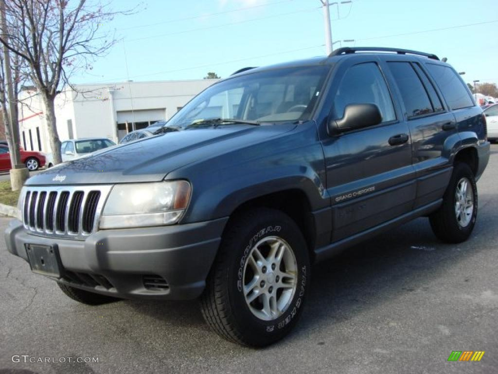 2002 jeep grand cherokee laredo 4x4 steel blue pearlcoat color. Cars Review. Best American Auto & Cars Review