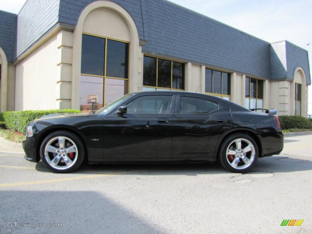 Brilliant Black Crystal Pearl 2008 Dodge Charger SRT-8 Exterior Photo ...