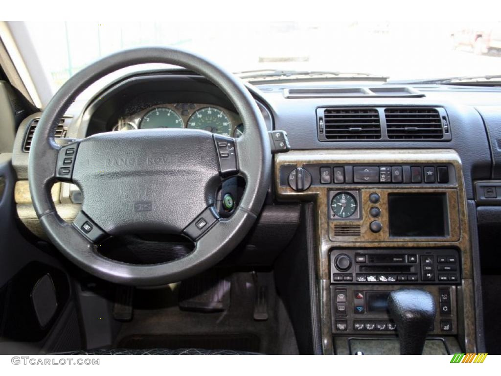 2000 land rover range rover 4 6 hse lightstone dashboard for Land rover 2000 interior