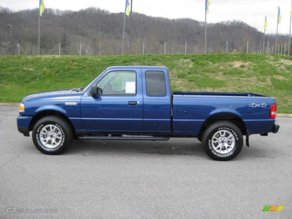 2011 vista blue metallic ford ranger xlt supercab 4x4. Black Bedroom Furniture Sets. Home Design Ideas