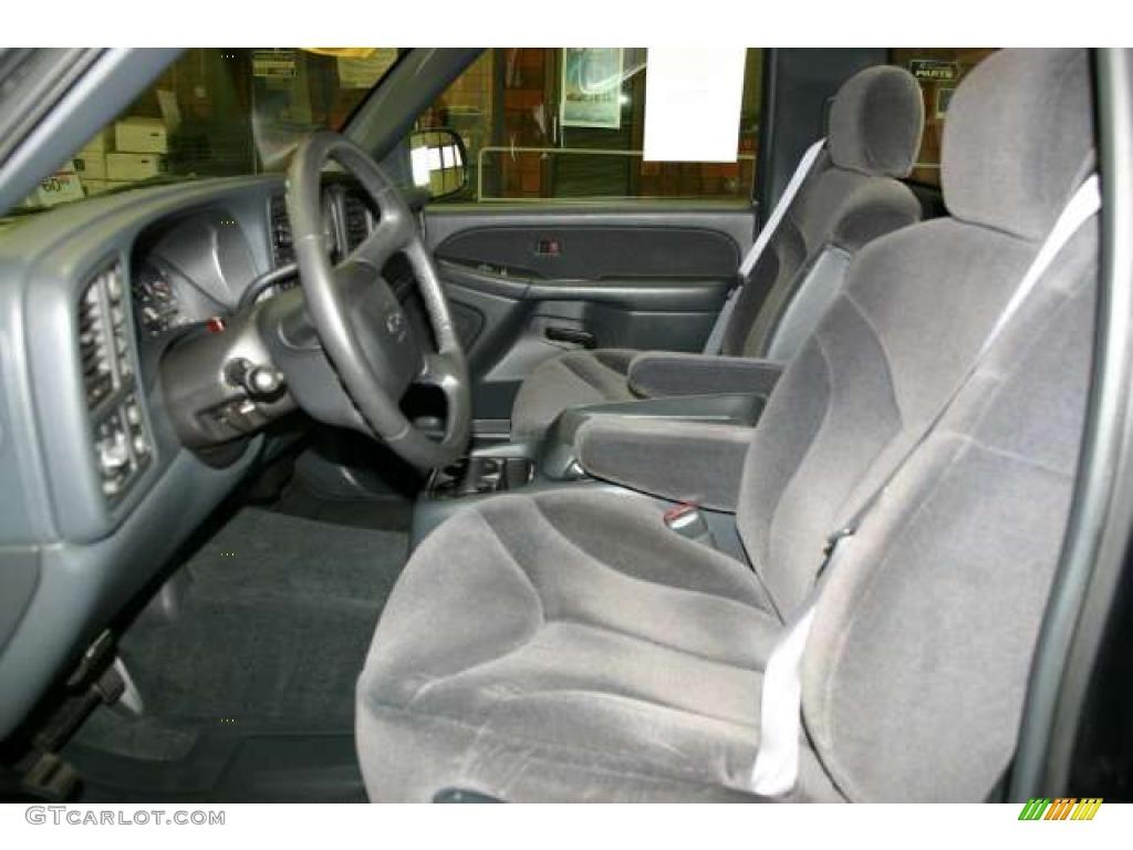 Graphite Interior 2000 Gmc Sierra 1500 Sle Regular Cab 4x4