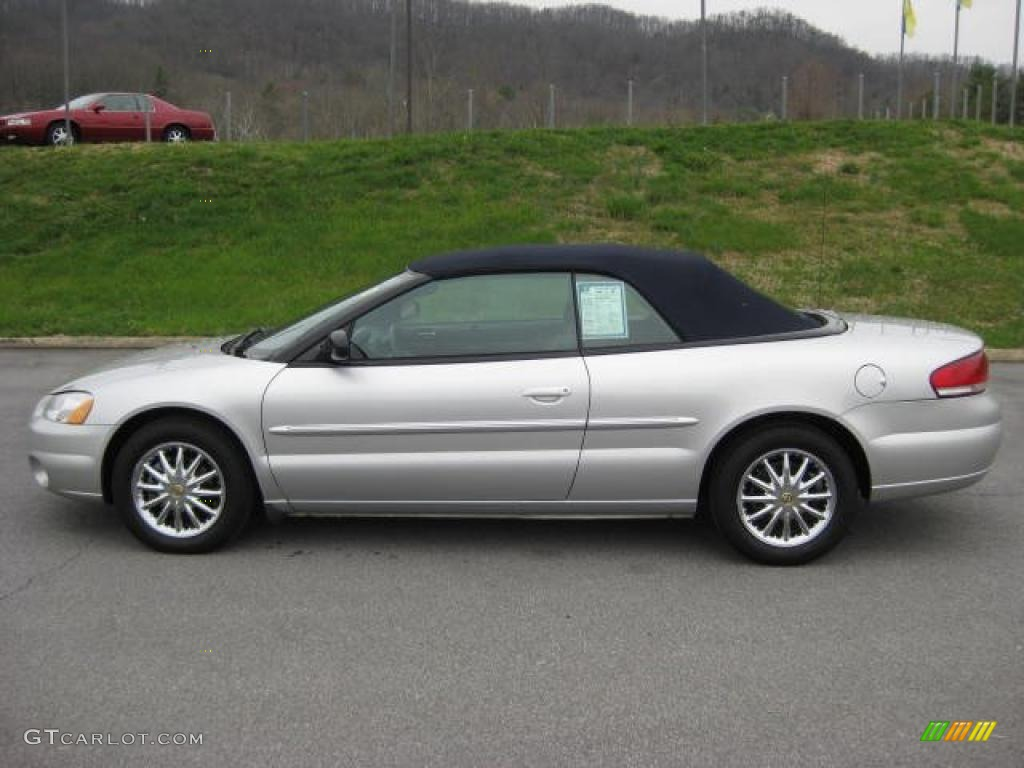 brilliant silver metallic 2002 chrysler sebring limited convertible. Cars Review. Best American Auto & Cars Review