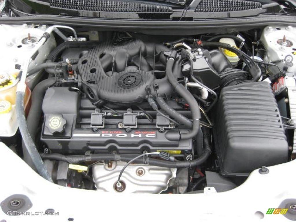 2002 Chrysler Sebring Limited Convertible 2.7 Liter DOHC ...