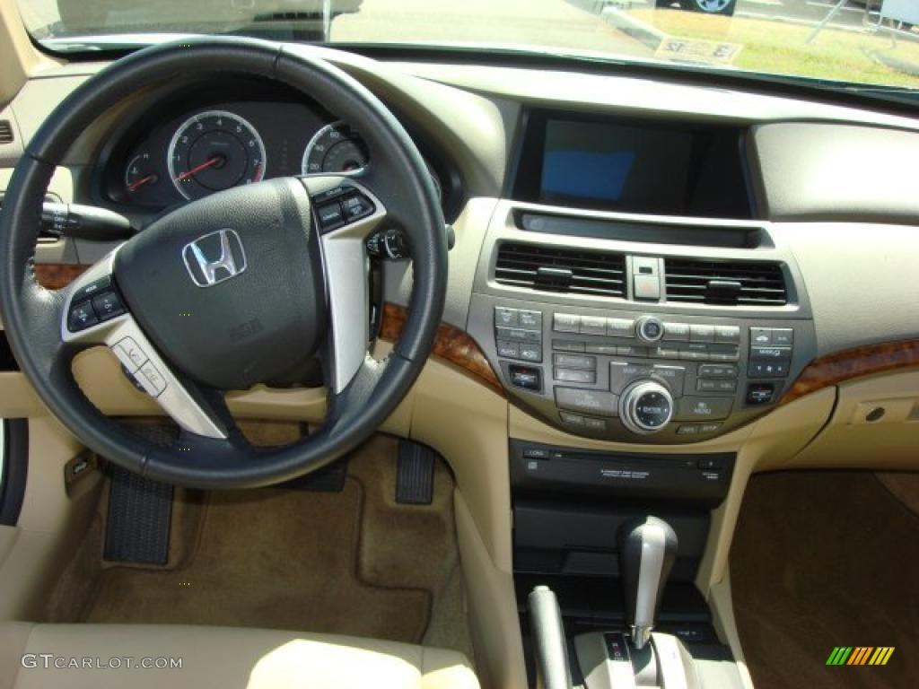 2010 Honda Accord Ex L Sedan Ivory Dashboard Photo