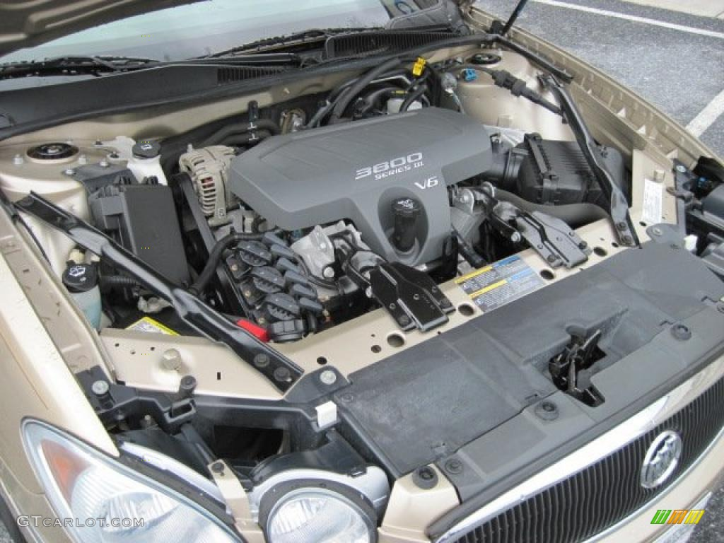 on 2007 Buick Lacrosse Cxs Specs