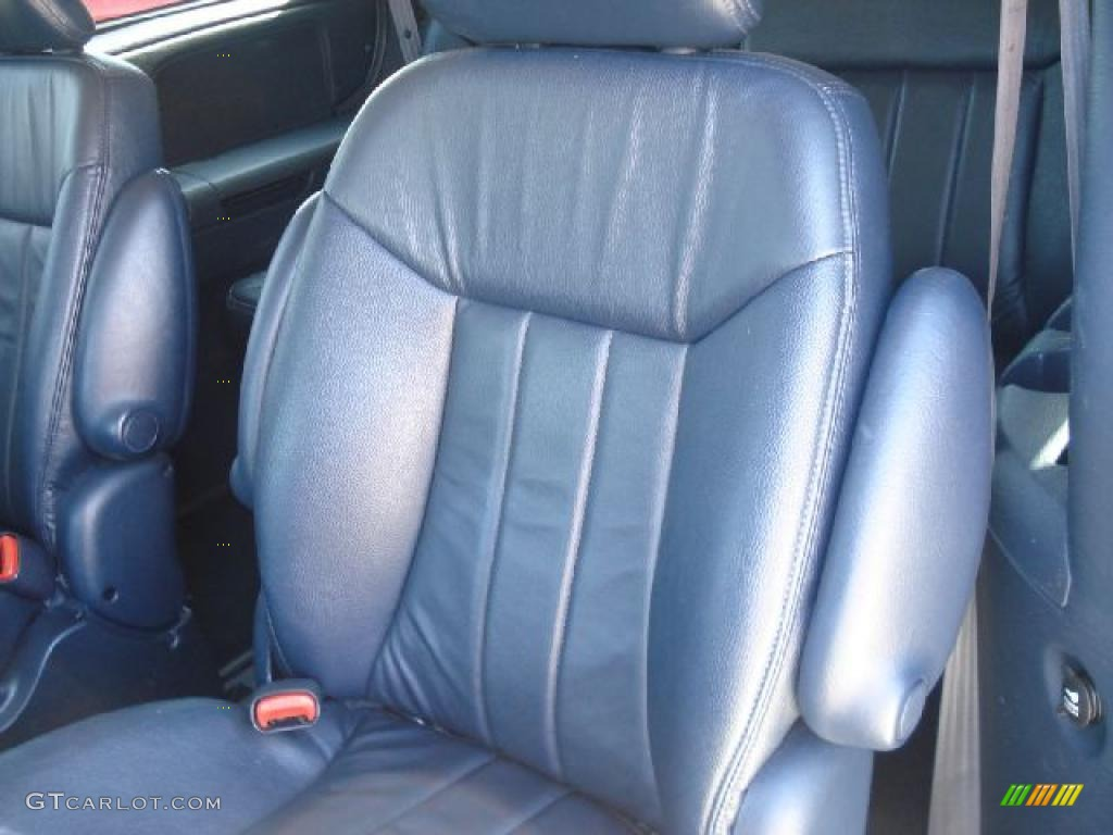 Navy Blue Interior 2003 Chrysler Town & Country LXi Photo #47200379