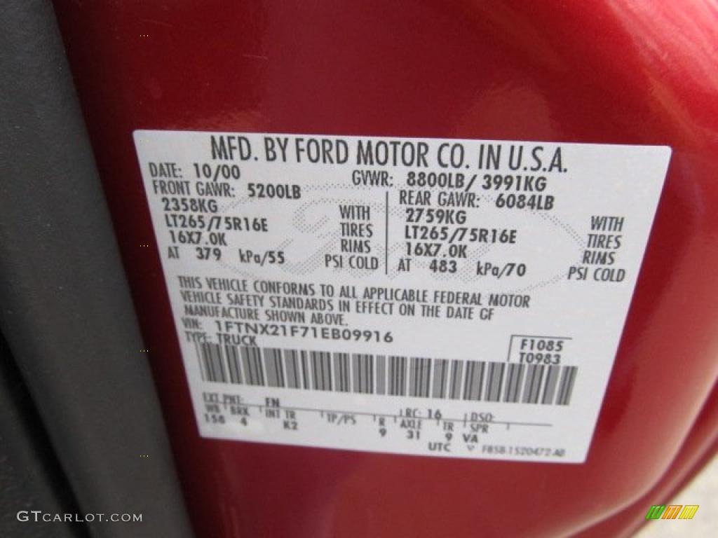 Toreador Red Paint Code Fn