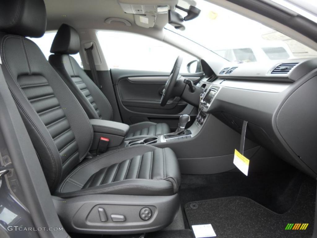 Black Interior 2012 Volkswagen Cc Sport Photo 47207504