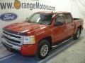 2009 Victory Red Chevrolet Silverado 1500 LS Crew Cab 4x4  photo #1