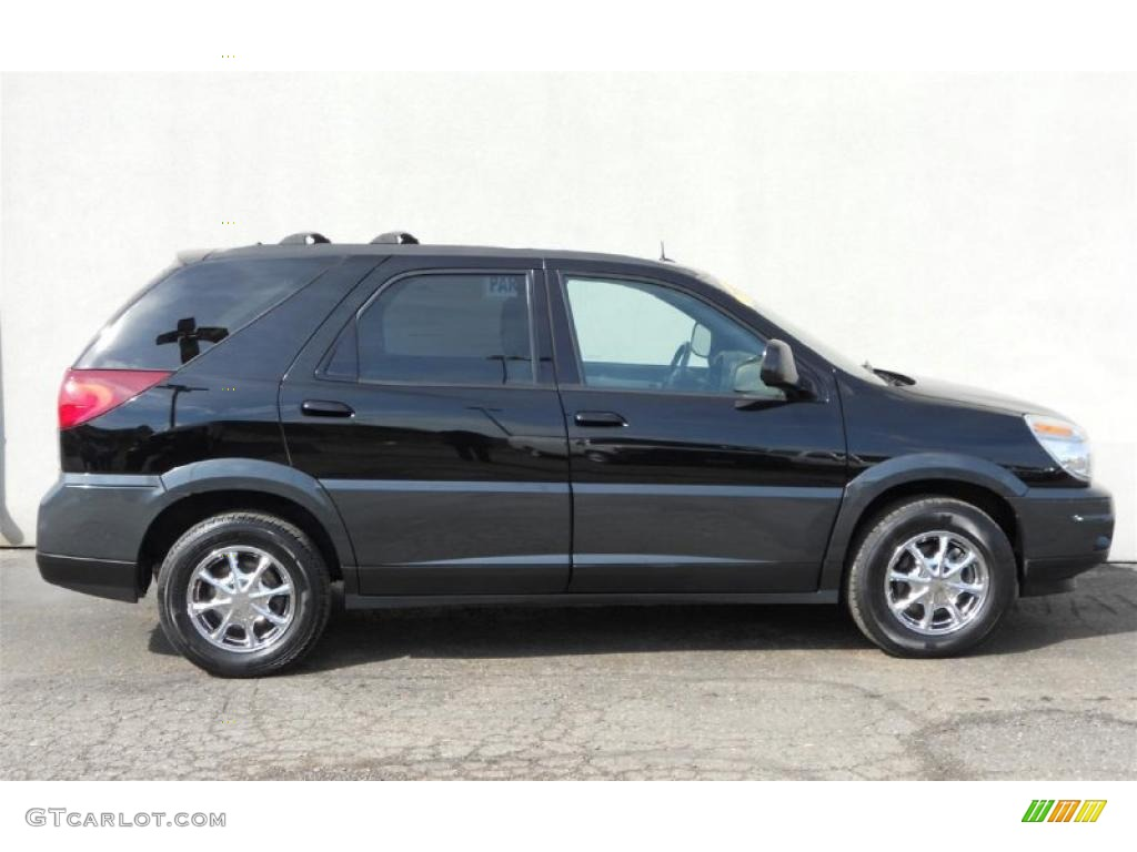 black 2004 buick rendezvous cxl awd exterior photo. Cars Review. Best American Auto & Cars Review