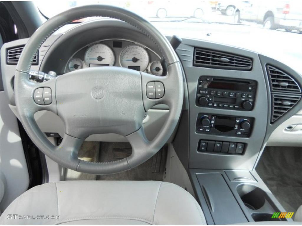 2004 buick rendezvous cxl awd light gray dashboard photo - Buick rendezvous interior dimensions ...