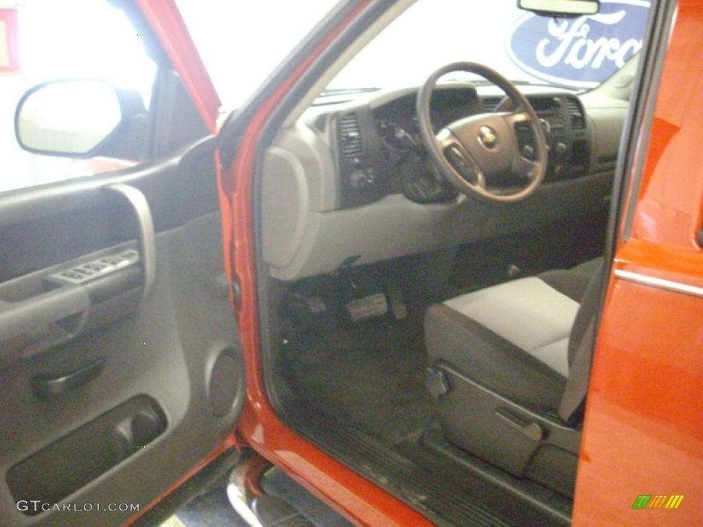 2009 Silverado 1500 LS Crew Cab 4x4 - Victory Red / Dark Titanium photo #16