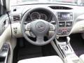 2011 Subaru Impreza Ivory Interior Dashboard Photo