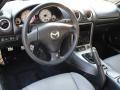 Gray 2003 Mazda MX-5 Miata Interiors