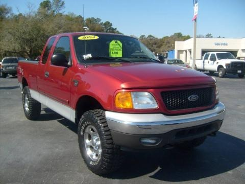 2004 Ford F150 Xlt Heritage Supercab 4x4 Data Info And Specs