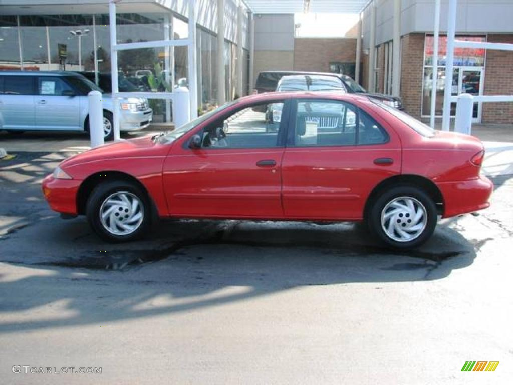 1998 Chevrolet Cavalier 1 - Cavalier Sedan Flame Red Gray Photo - 1998 Chevrolet Cavalier 1
