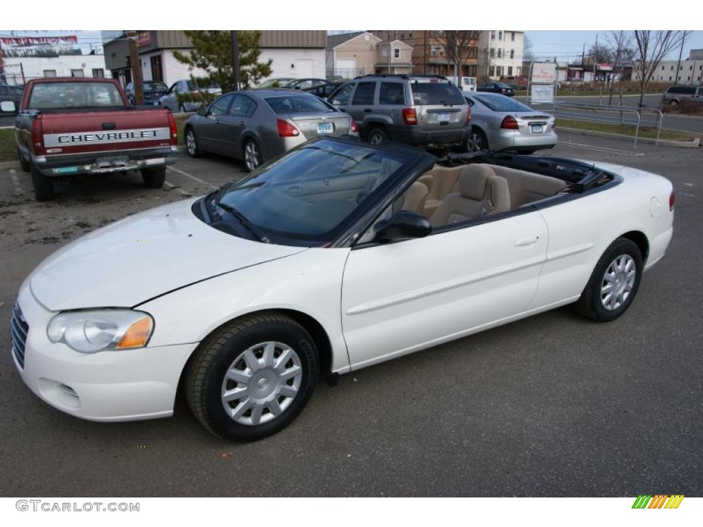 stone white 2004 chrysler sebring convertible exterior photo 47223263. Cars Review. Best American Auto & Cars Review