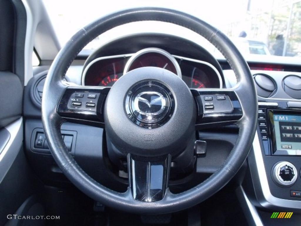 2008 mazda cx 7 grand touring awd steering wheel photos. Black Bedroom Furniture Sets. Home Design Ideas