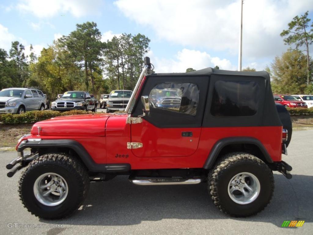1992 Jeep Wrangler S 4x4 Custom Wheels Photo 47229239