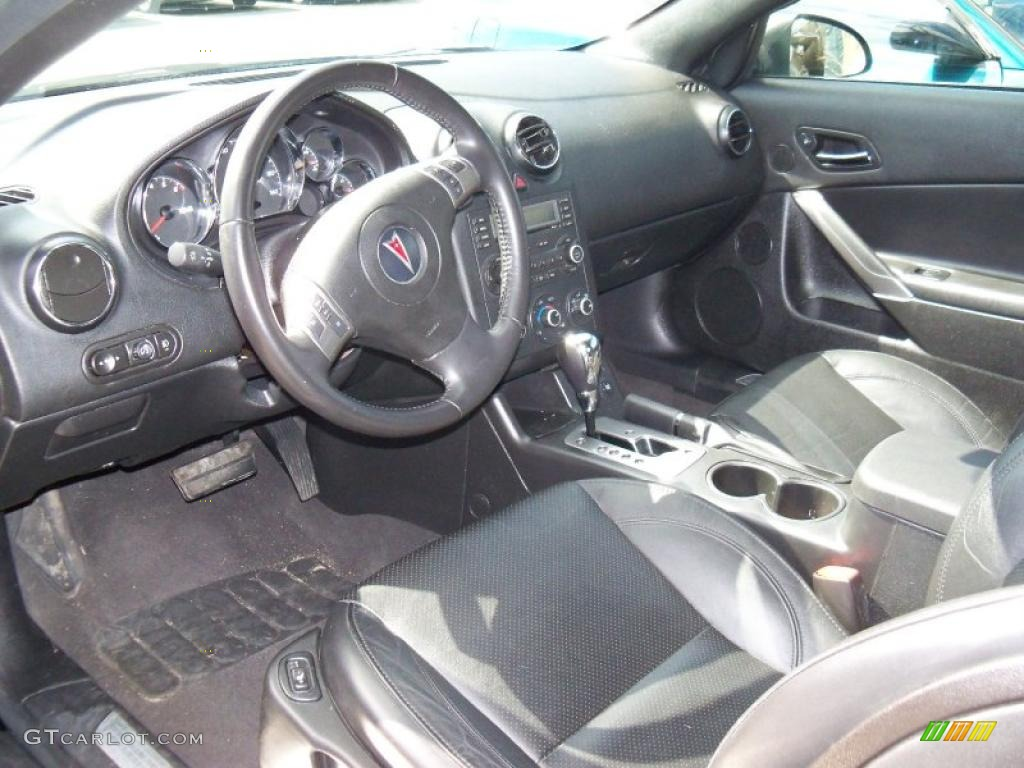 Ebony Interior 2006 Pontiac G6 Gt Convertible Photo