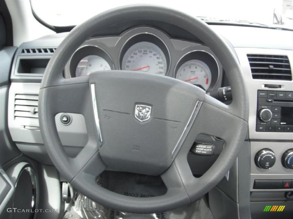 2008 dodge avenger sxt dark slate gray light slate gray steering wheel photo 47236154 for 2012 dodge avenger interior lights