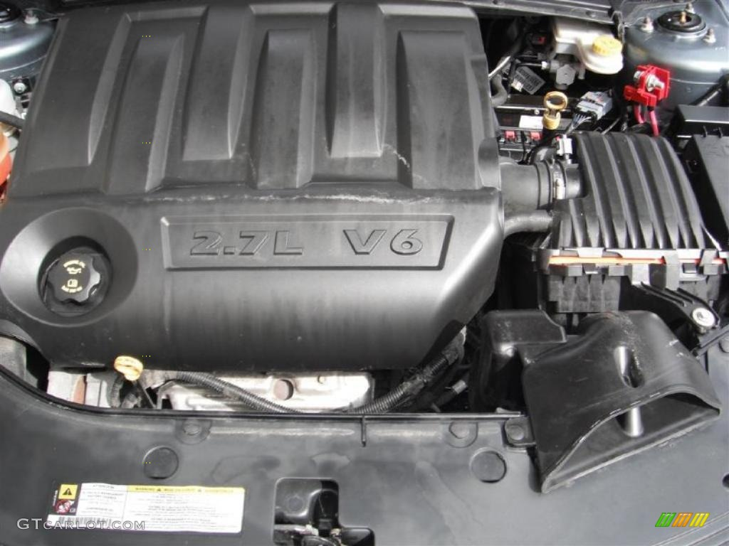 2008 dodge avenger sxt 2.7 liter dohc 24-valve flex-fuel ... 2008 dodge 2 7 liter engine diagram
