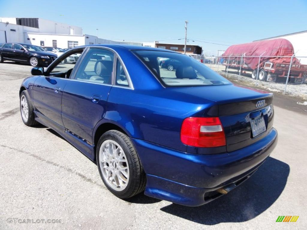 santorin blue pearl 1999 audi a4 2 8 quattro sedan. Black Bedroom Furniture Sets. Home Design Ideas