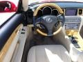 Ecru Beige Steering Wheel Photo for 2003 Lexus SC #47243138