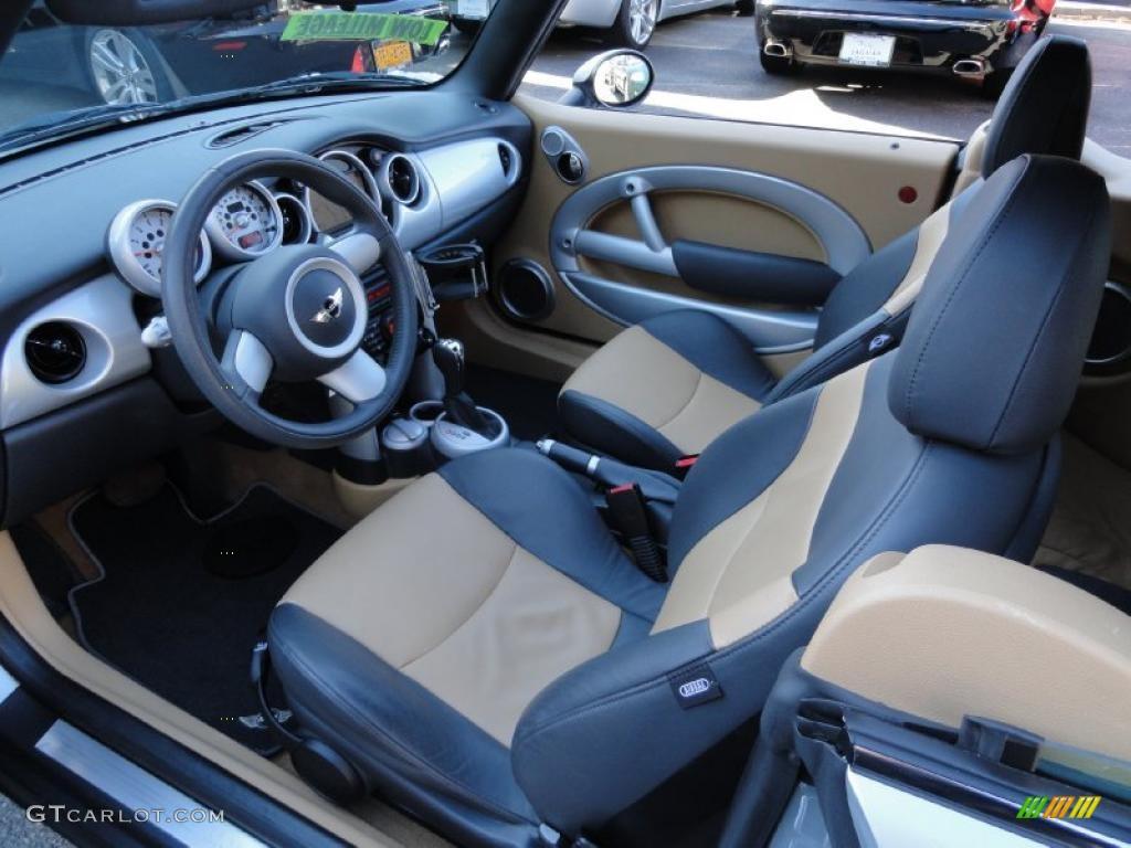 Cordoba Beige Interior 2005 Mini Cooper Convertible Photo 47244899