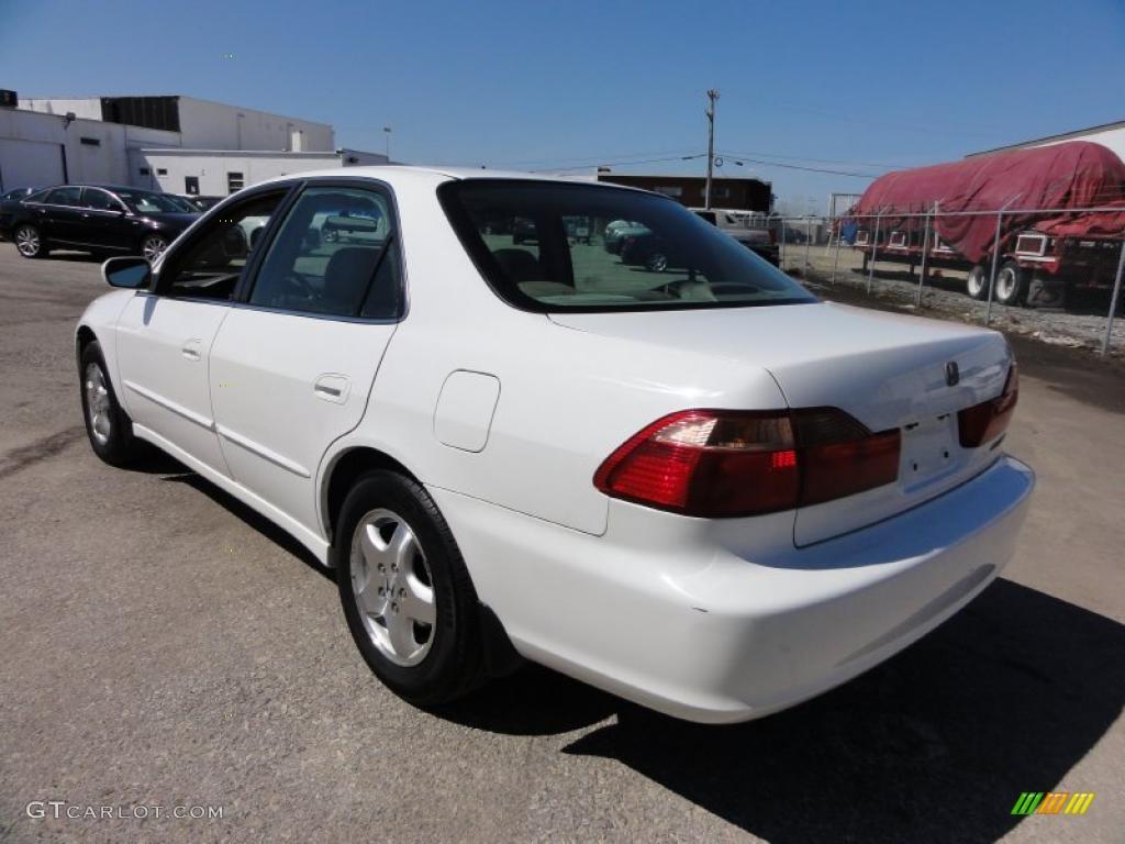 Taffeta White 1998 Honda Accord Ex V6 Sedan Exterior Photo 47249417