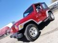 1998 Chili Pepper Red Pearl Jeep Wrangler Sport 4x4 #47240407