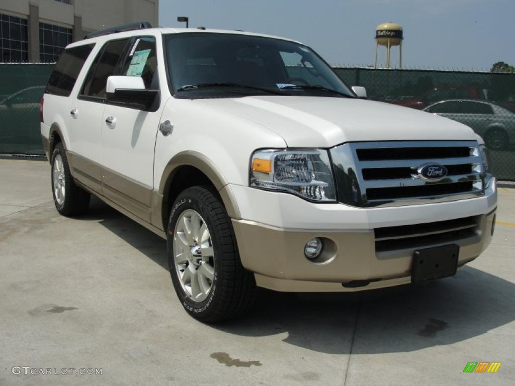 2011 white platinum tri coat ford expedition el king ranch. Black Bedroom Furniture Sets. Home Design Ideas
