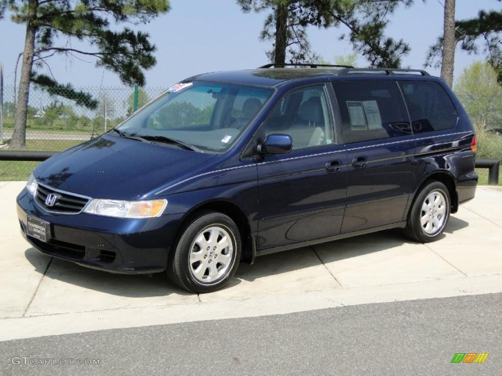 midnight blue pearl 2003 honda odyssey ex l exterior photo. Black Bedroom Furniture Sets. Home Design Ideas
