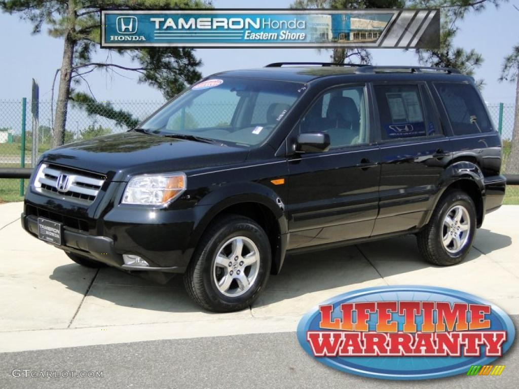 2008 formal black honda pilot special edition 4wd for Black honda pilot