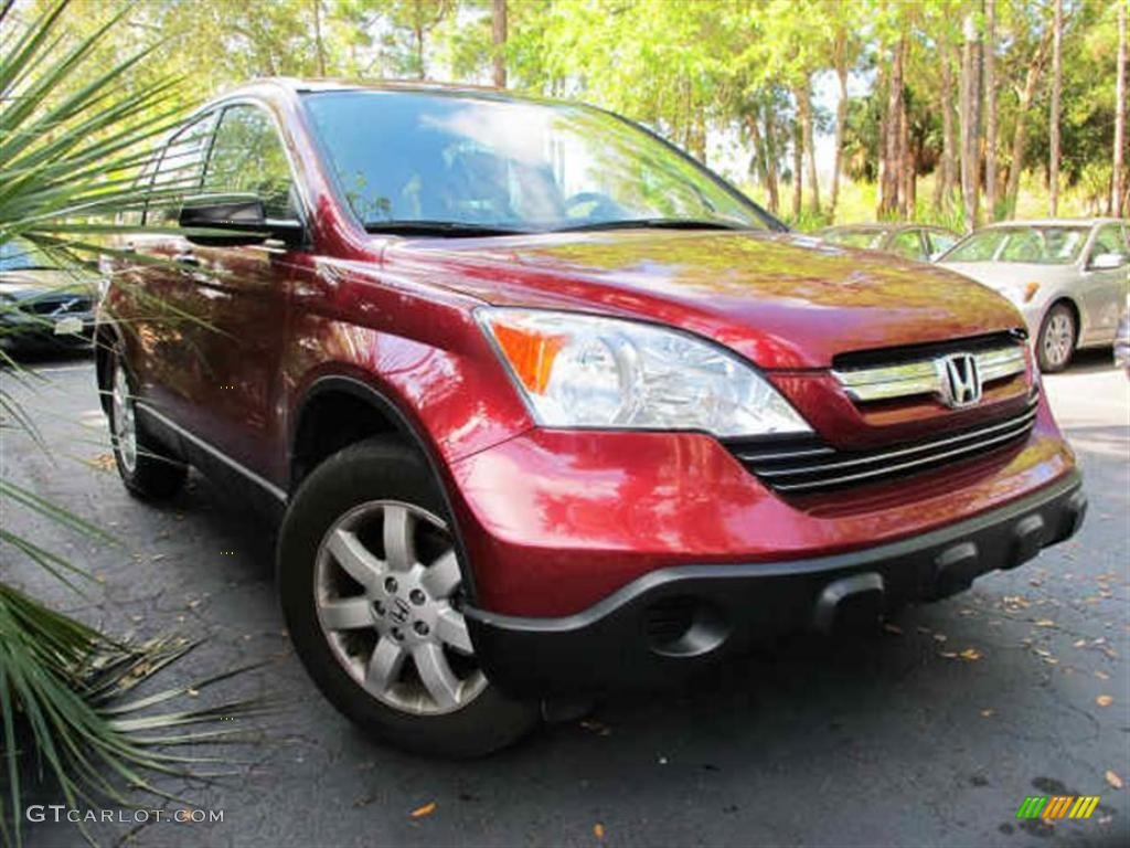 2009 CR-V EX - Tango Red Pearl / Gray photo #1