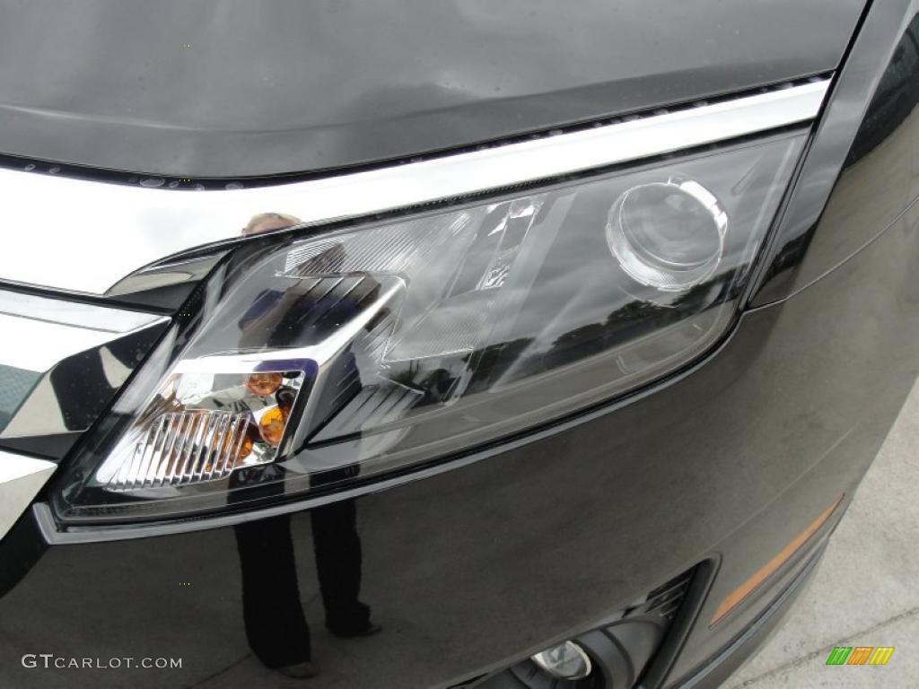 2011 Fusion SE - Tuxedo Black Metallic / Charcoal Black photo #9