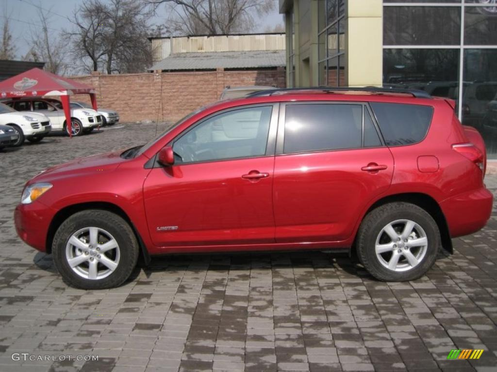 Barcelona Red Metallic 2006 Toyota Rav4 Limited 4wd