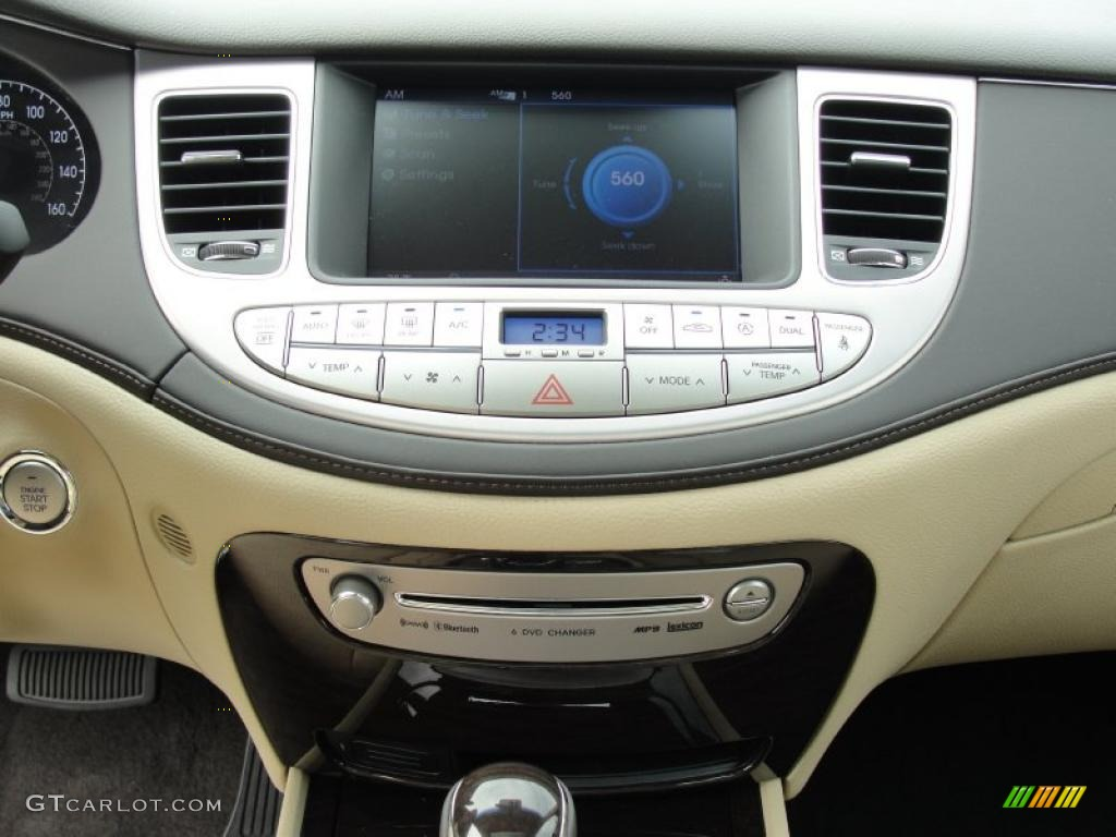 2011 Hyundai Genesis 4 6 Sedan Controls Photo 47262371