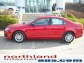 2011 Red Candy Metallic Ford Fusion S  photo #1