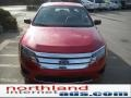 2011 Red Candy Metallic Ford Fusion S  photo #3