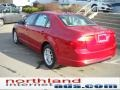 2011 Red Candy Metallic Ford Fusion S  photo #8