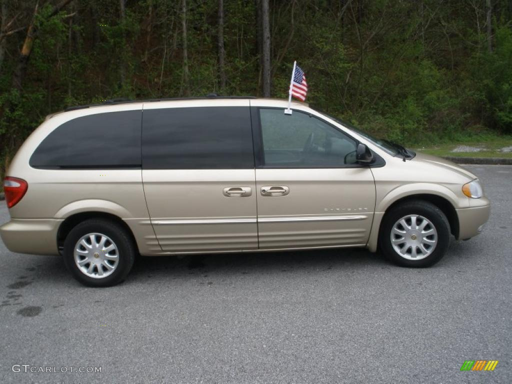 champagne pearl 2001 chrysler town country lxi exterior photo. Cars Review. Best American Auto & Cars Review