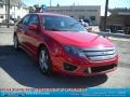 2011 Red Candy Metallic Ford Fusion Sport  photo #1