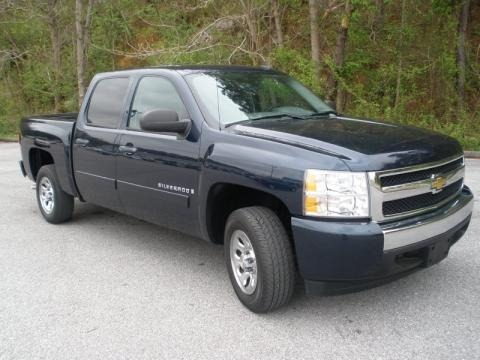 2007 chevrolet silverado 1500 lt crew cab data info and. Black Bedroom Furniture Sets. Home Design Ideas