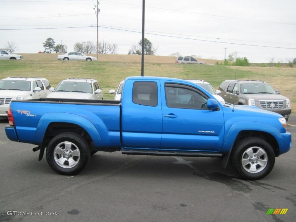 2005 speedway blue toyota tacoma prerunner trd sport. Black Bedroom Furniture Sets. Home Design Ideas