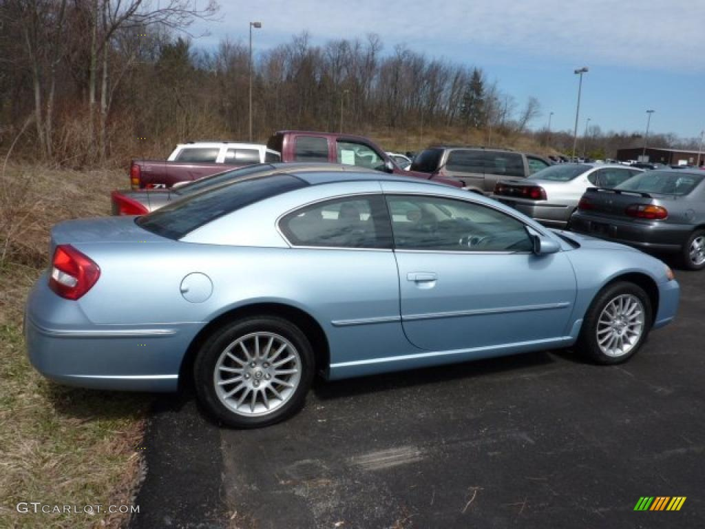 light blue pearl 2004 chrysler sebring limited coupe. Black Bedroom Furniture Sets. Home Design Ideas