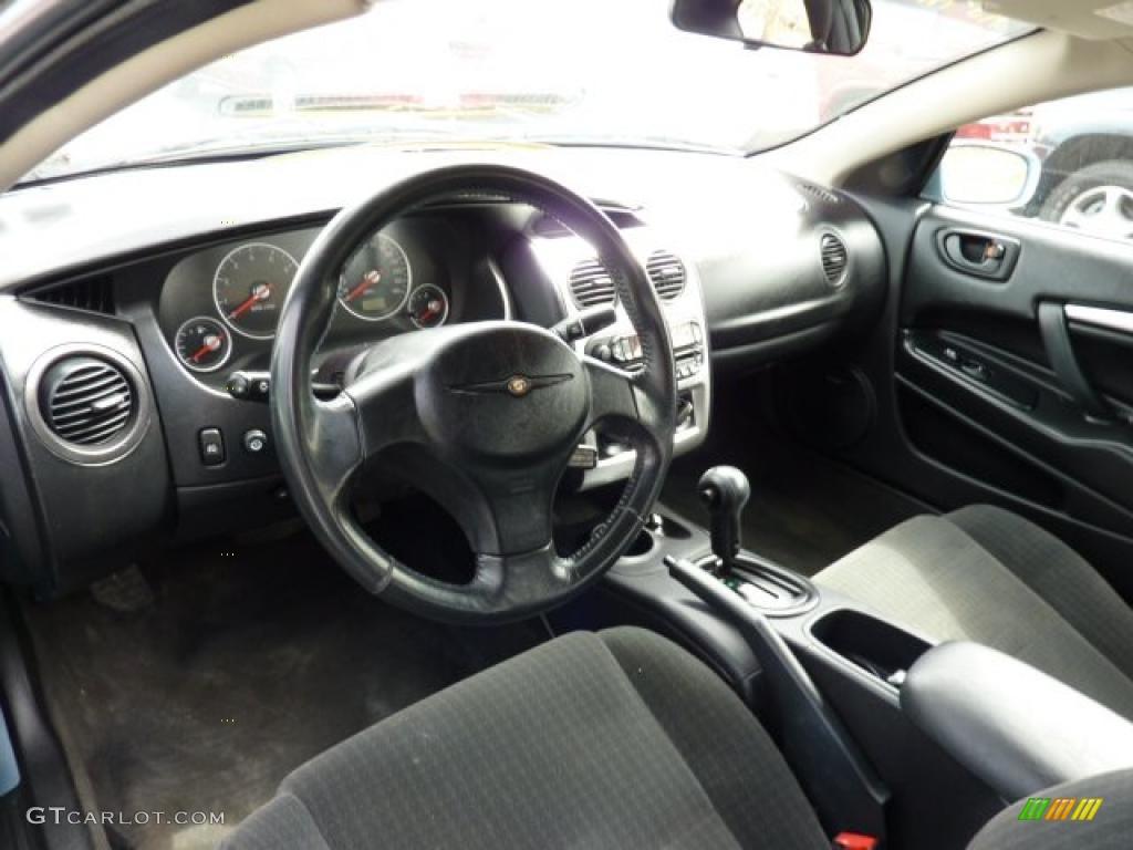 black interior 2004 chrysler sebring limited coupe photo 47293799