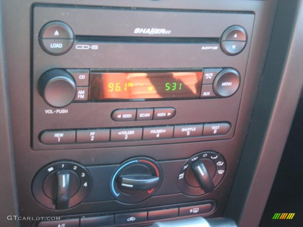 2006 Ford Mustang V6 Premium Coupe Controls Photo #47294915